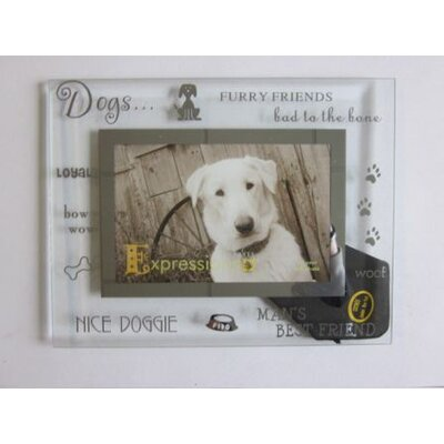 Sixtrees Moments Dog Picture Frame