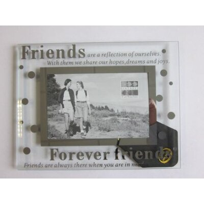 Sixtrees Moments Bevelled Glass Forever Friends Photo Frame