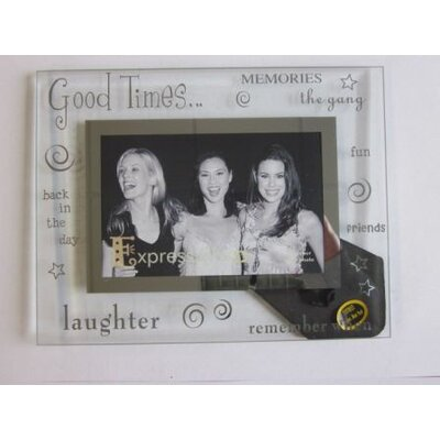 Sixtrees Moments Bevelled Glass Good Times Photo Frame