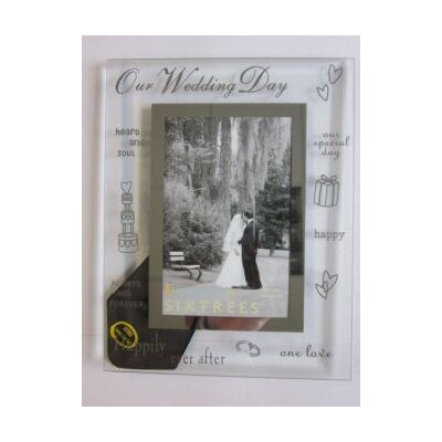 Sixtrees Moments On Our Wedding Day Picture Frame