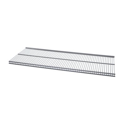 "Organized Living freedomRail Ventilated Shelf (Set of 6) Size: 24"" x 12"", Color: Nickel"