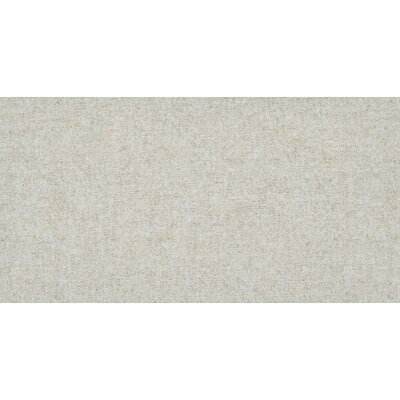 "Tektile 12"" x 24"" Porcelain Fabric look Tile in Matte glaze Beige"