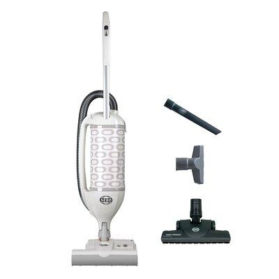 Felix 1 Premium Upright Vacuum with Parquet Color: White / Light Gray