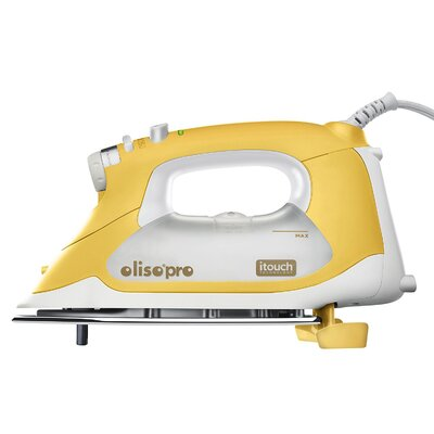 Oliso 1800 Watts Smart Iron with iTouch Technology Color: Yellow