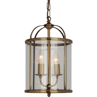 Impex Lighting Orly 2 Light Pendant Lamp