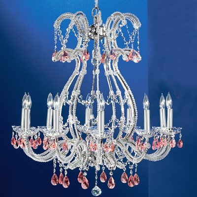 Classic Lighting Aurora 10 Light Chandelier