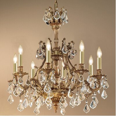 Classic Lighting Majestic 8 Light Chandelier