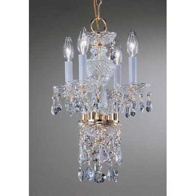 Classic Lighting Monticello 4 Light Mini-Chandelier