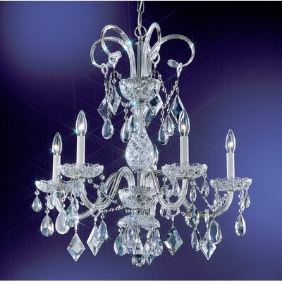 Classic Lighting Prague 5 Light Chandelier