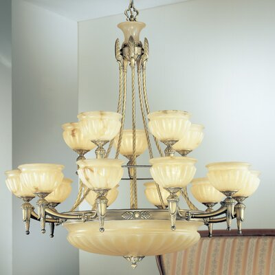 Classic Lighting Marie Antoiniette 18 Light Chandelier