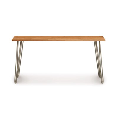 Essentials Console Table Color: Natural Cherry