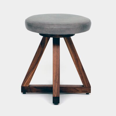 X Accent Stool Color: Smoke
