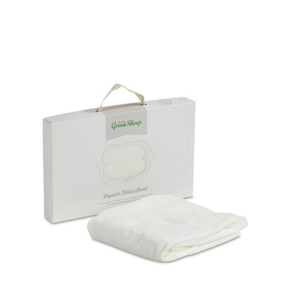 The Little Green Sheep Organic Cotton Crib Jersey Fitted Sheet