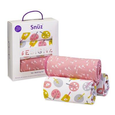 The Little Green Sheep Snuz Little Tweets 3 Piece Crib Bedding Set