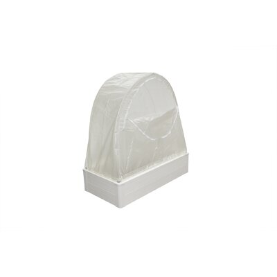 """Greenhouse Replacement Cover Size: 43"""" H x 48"""" W x 24"""" D"""