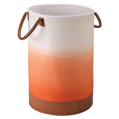 Fade Tote Fabric Bin Color: Tangerine