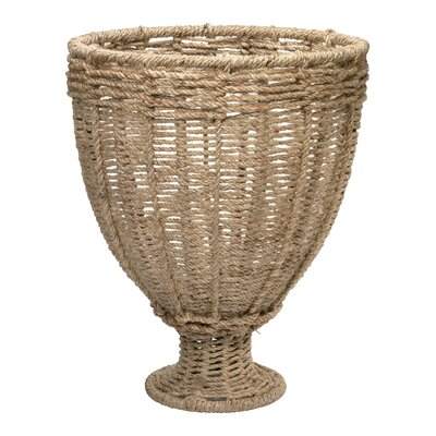 Jamie Young Company Jute Urn Vase