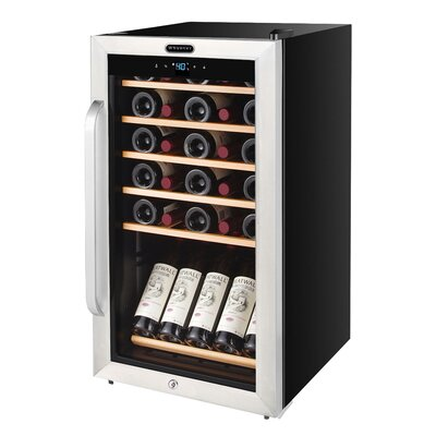 34 Bottle Single Zone Freestanding Wine Cooler