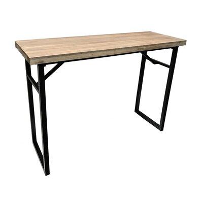 "Calie Rectangle Console Table Size: 35.75"" H x 48"" W x 17.75"" D"