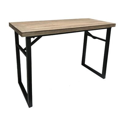 "Calie Rectangle Console Table Size: 31.75"" H x 40.5"" W x 15.75"" D"