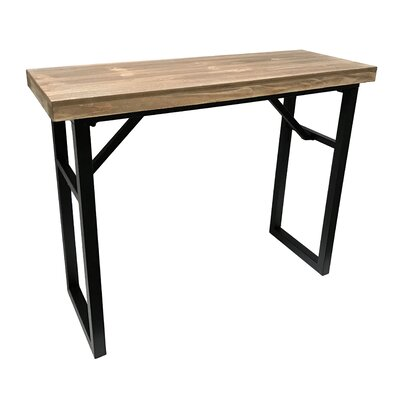 "Calie Rectangle Console Table Size: 27.75"" H x 33.75"" W x 13.75"" D"