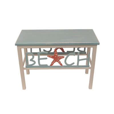 Innis Beach/Starfish Wood Bench