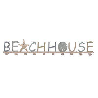 Isler Beach House Wall Mounted Coat Rack