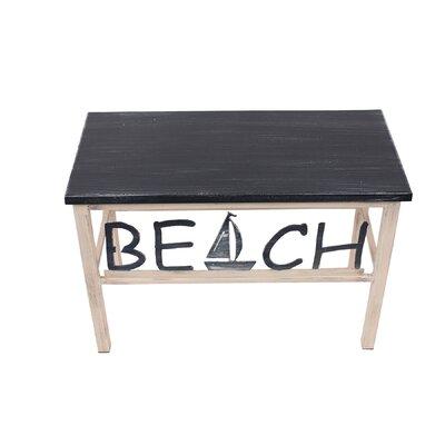 Islas Beach/Sailboat Wood Bench