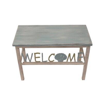Inglesbatch Multi Shell Welcome Wood Bench