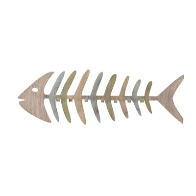 Hymes Bonefish Wall Mounted Coat Rack