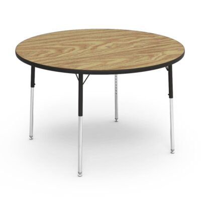 "4000 Series 48"" Circular Activity Table Tabletop Finish: Medium Oak"
