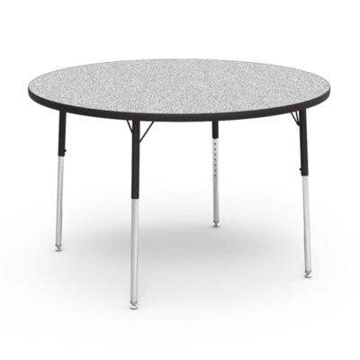 "4000 Series 48"" Circular Activity Table Tabletop Finish: Grey Nebula"