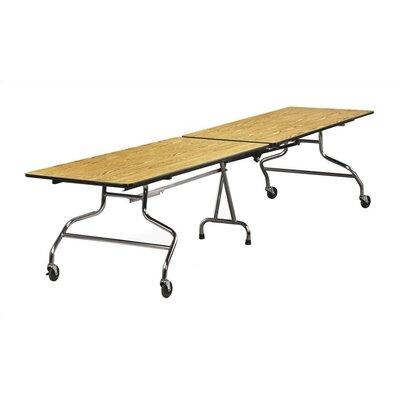 Virco 96'' x 30'' Rectangular Cafeteria Table