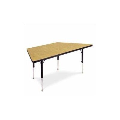 "Virco 4000 Series 48"" x 24"" Trapezoidal Activity Table"