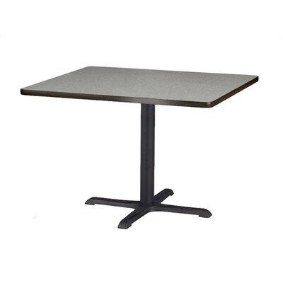 "Virco Lunada Cross-Shaped Cast Iron Table Base (22"" x 22"" x 29"")"