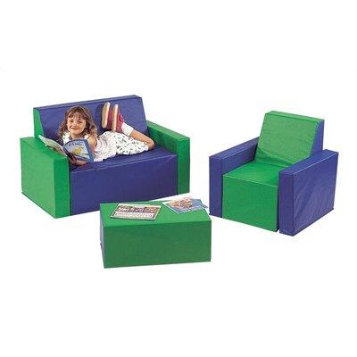 Virco 3 Piece Children's Seating Group Set