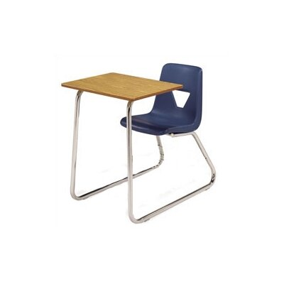 "Virco 2000 Series Laminate 30"" Combo Desk"