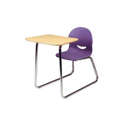 "Virco I.Q. Series Plastic 32.25"" Combo Desk"