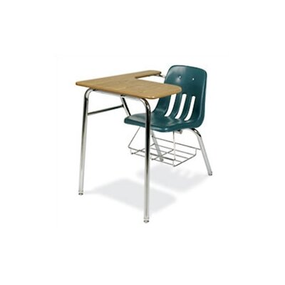 "Virco 9000 Series Laminate 30"" Combo Desk"