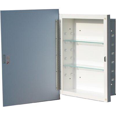"Westling 16.5"" x 30.5"" Recessed or Surface Mount Medicine Cabinet"
