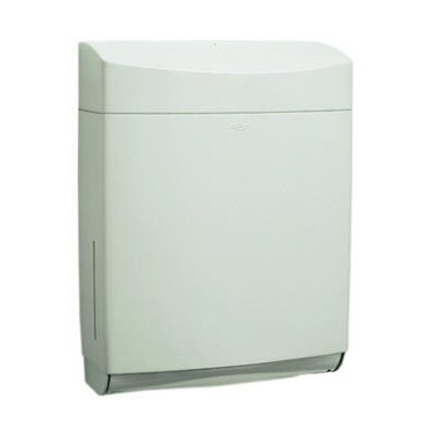 Matrix Series Surface-Mounted Paper Towel Dispenser in Gray
