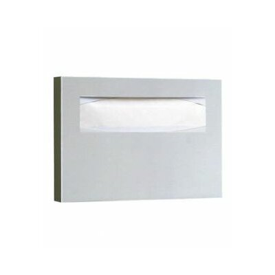 "11"" Toilet Seat Cover Dispenser in Satin"