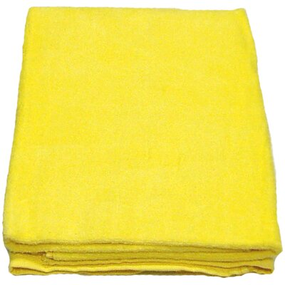 Velour 100% Cotton Beach Towel Color: Yellow