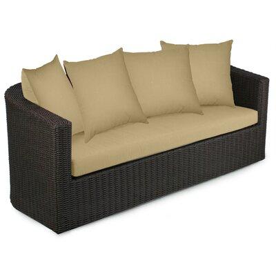 Palomar Sofa with Cushions Fabric: Dijon