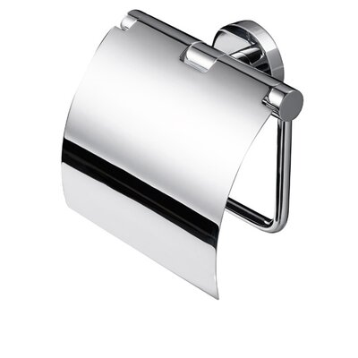 Impey Showers Nemox Wall Mounted Toilet Roll Holder With Cover