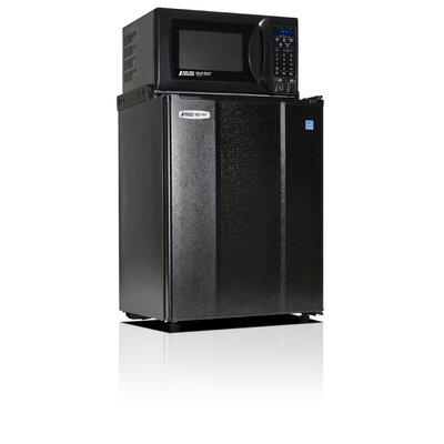 Safe Plug 2.5 cu. ft. Compact Refrigerator with Microwave