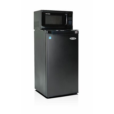 Snackmate 3.2 cu. ft. Compact Refrigerator with Microwave