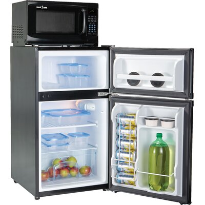 Snackmate 3.1 cu. ft. Compact Refrigerator with Freezer