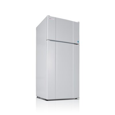 Apartment 10.3 cu. ft. Top Freezer Refrigerator Color: White