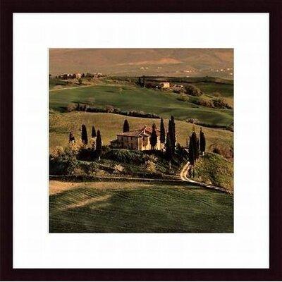 Printfinders 'Tuscan Villa' by Elizabeth Carmel Framed Photographic Print